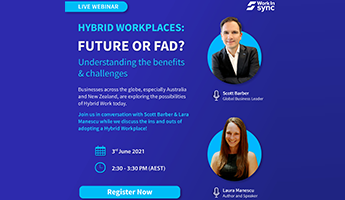 Hybrid Workplaces: Future or Fad? Understanding the Benefits & Challenges Thumbnail